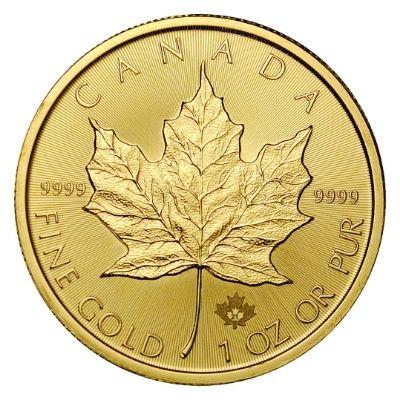 2021 Gold Maple Leaf