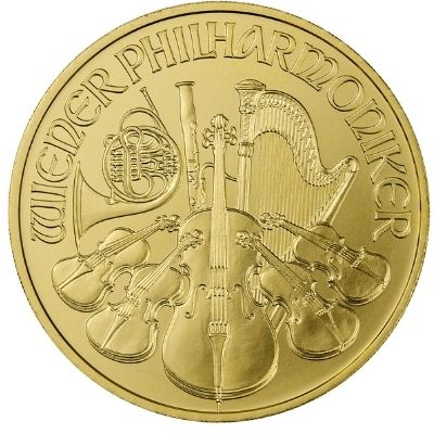 2021 Austria Gold Philharmonic Reverse