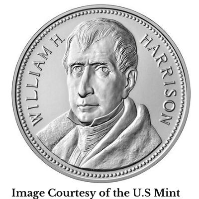William Henry Harrison Presidential Medal