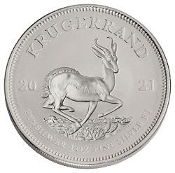 2021 Silver Krugerrand Reverse
