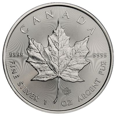 2021 Brilliant Uncirculated Silver Maple Leaf Coins