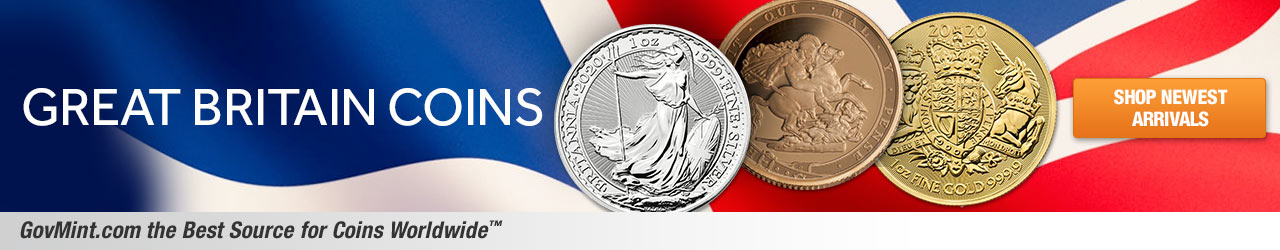 Great Britain Coins Category Banner