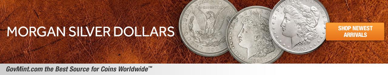 Morgan Silver Dollars Category Banner