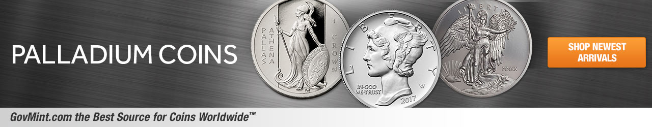 Palladium Coins Category Banner