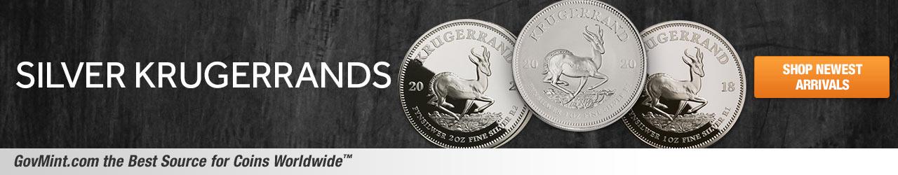 Silver Krugerrands Category Banner