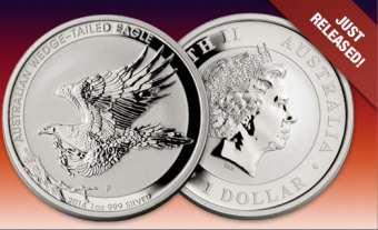 2014 Australian Wedge Tailed Silver Eagle BU
