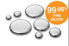 99.99% Fine Silver