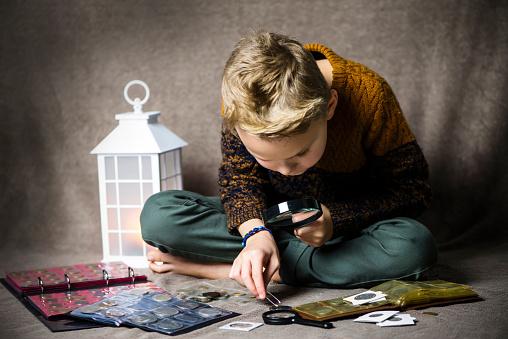 Boy Numismatist