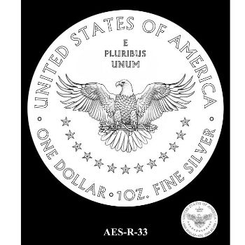 CFA American Silver Eagle Reverse Design Selection