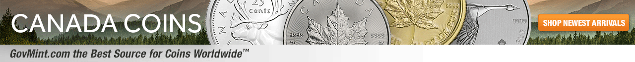 Canada Coins Category Banner