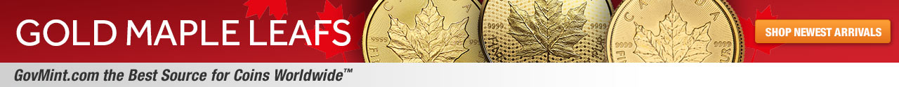 Gold Maple Leafs Category Banner