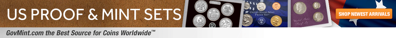 U.S. Proof and Mint Sets Category Banner