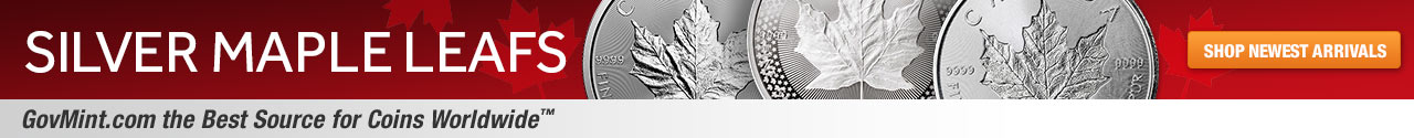 Silver Maple Leafs Category Banner
