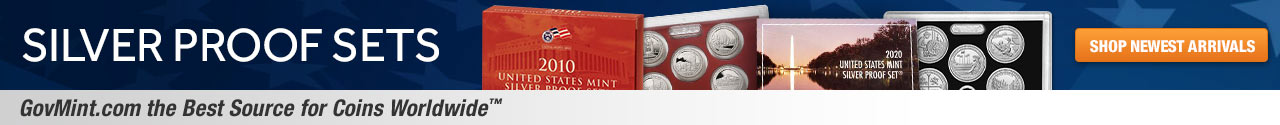 Silver Proof Sets Category Banner