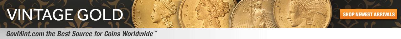 Vintage Gold Category Banner