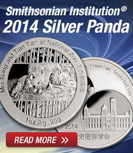 Silver Smithsonian Panda