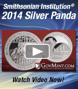 2014 Smithsonian Silver Panda Proof