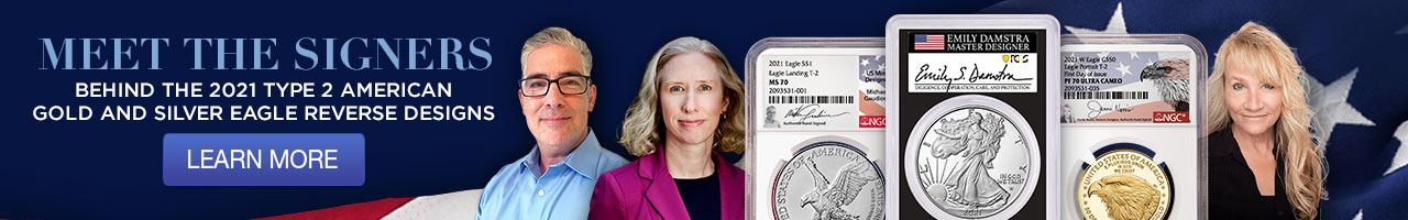 meet the signers behind the 2021 type 2 american gold and silver eagle reverse designs