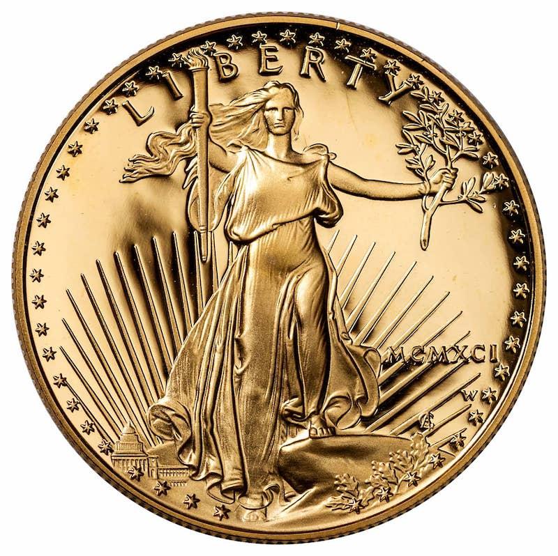 Gold American Eagle Coin 1oz