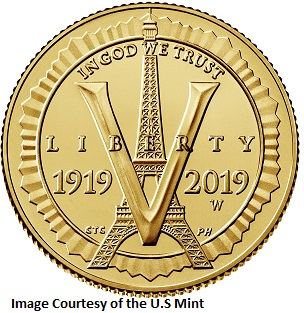 Anerican Legion Gold Obverse
