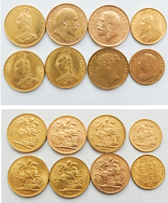 Gold Sovereign Collection
