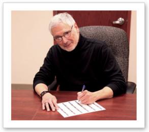 John Mercanti Signing Picture