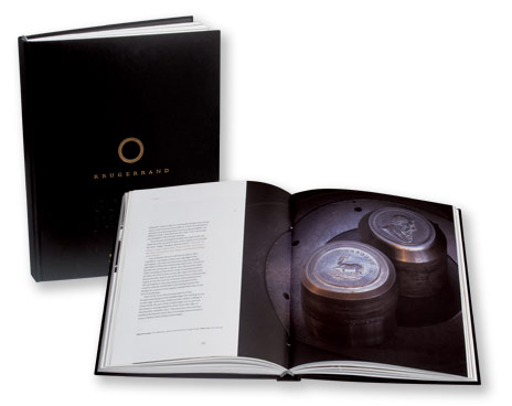 Coin in book