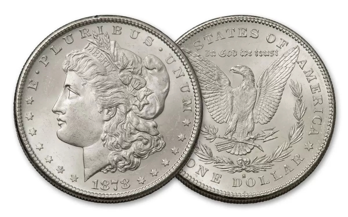 Morgan Silver Dollar Coin US Mint