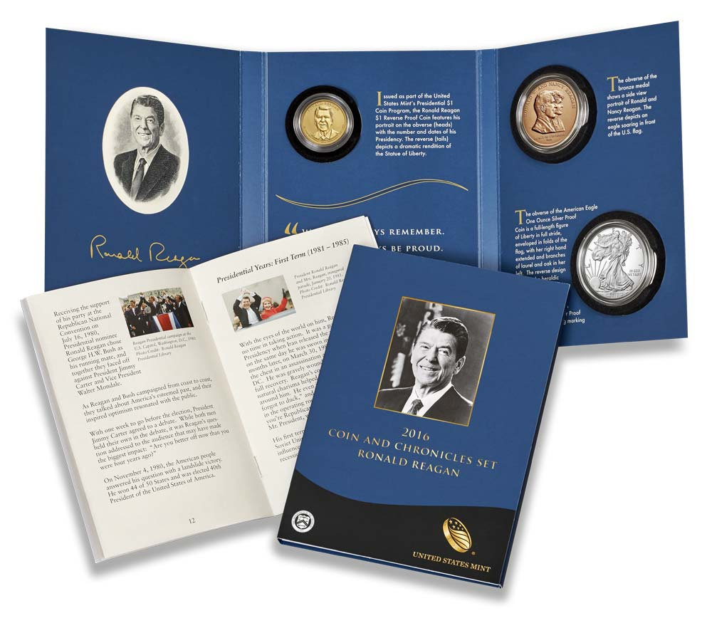 Reagan Coin and Chronicle