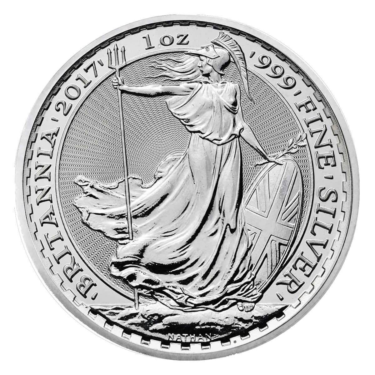 Silver Britannia Coin Great Britain 1oz 999