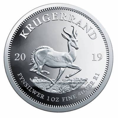 Silver Krugerrand Coin 1oz South Africa