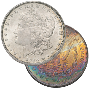 Toned Silver Coins