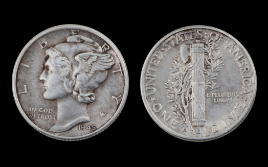 Winged Liberty Dime