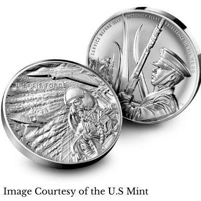 U.S. Airforce Silver Medal Design