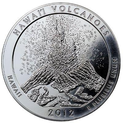 2012 Hawaii Volcano Reverse Design