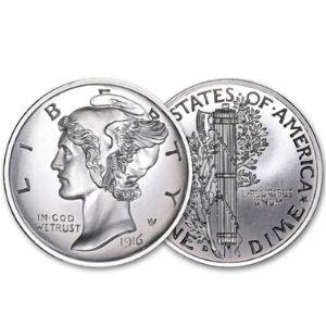 American Coin Treasures Mercury Dime Tribute