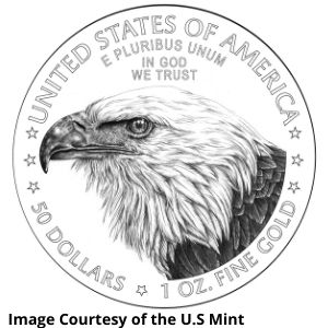 American Gold Eagle new reverse
