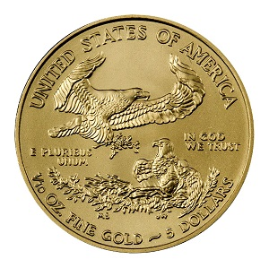 American Gold Eagle Reverse