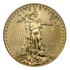 American Gold Eagle Obverse Type 1