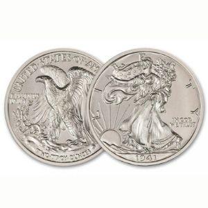 American Treasures Walking Liberty Design