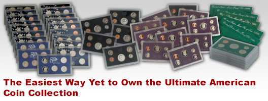 The Easiest Way Yet to Own the Ultimate American Coin Collection
