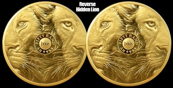 Big 5 Lion reverse