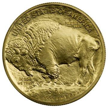 Uncirculated Finish Gold Buffalo Coin