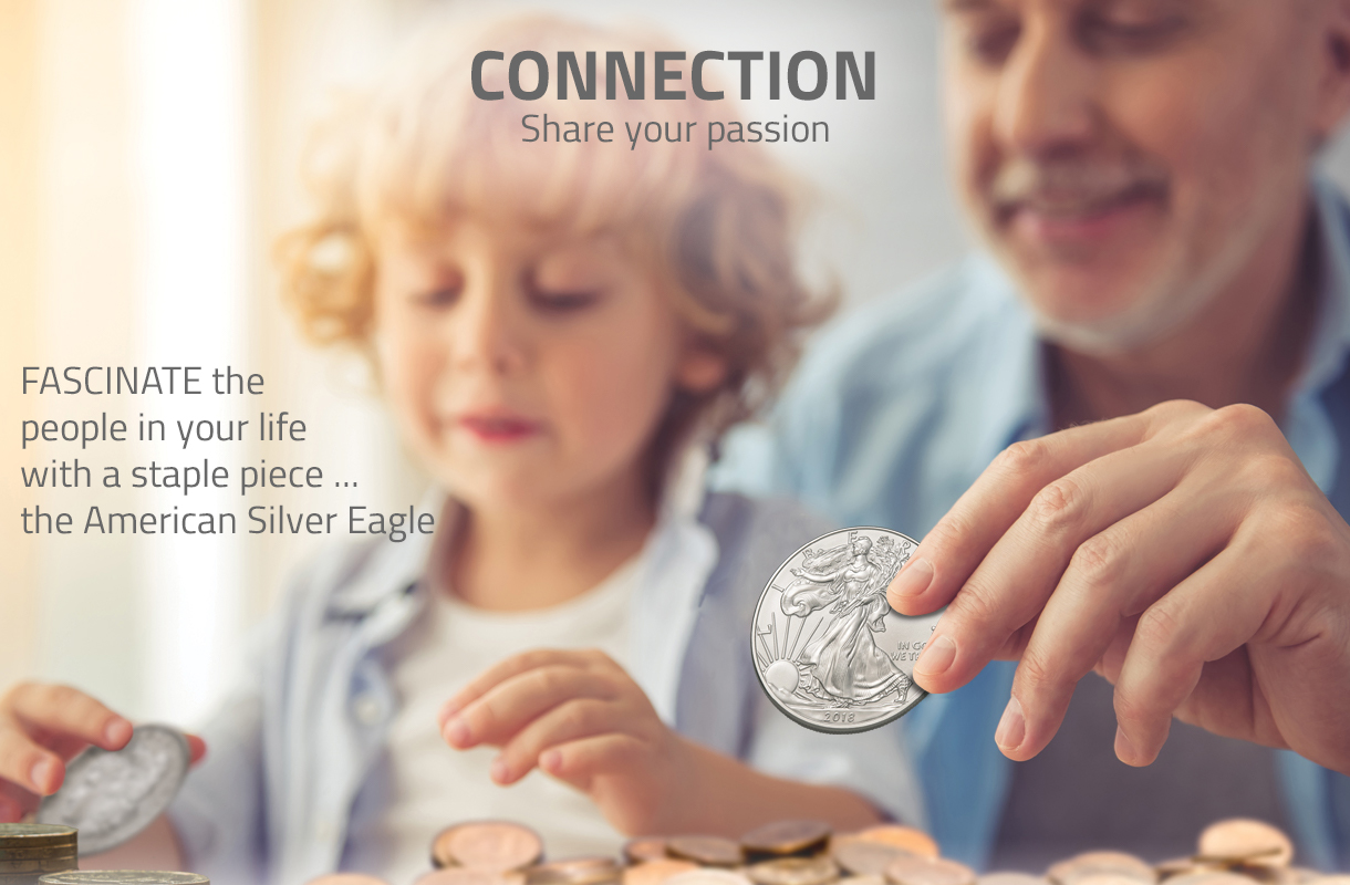 Silver eagle collecting