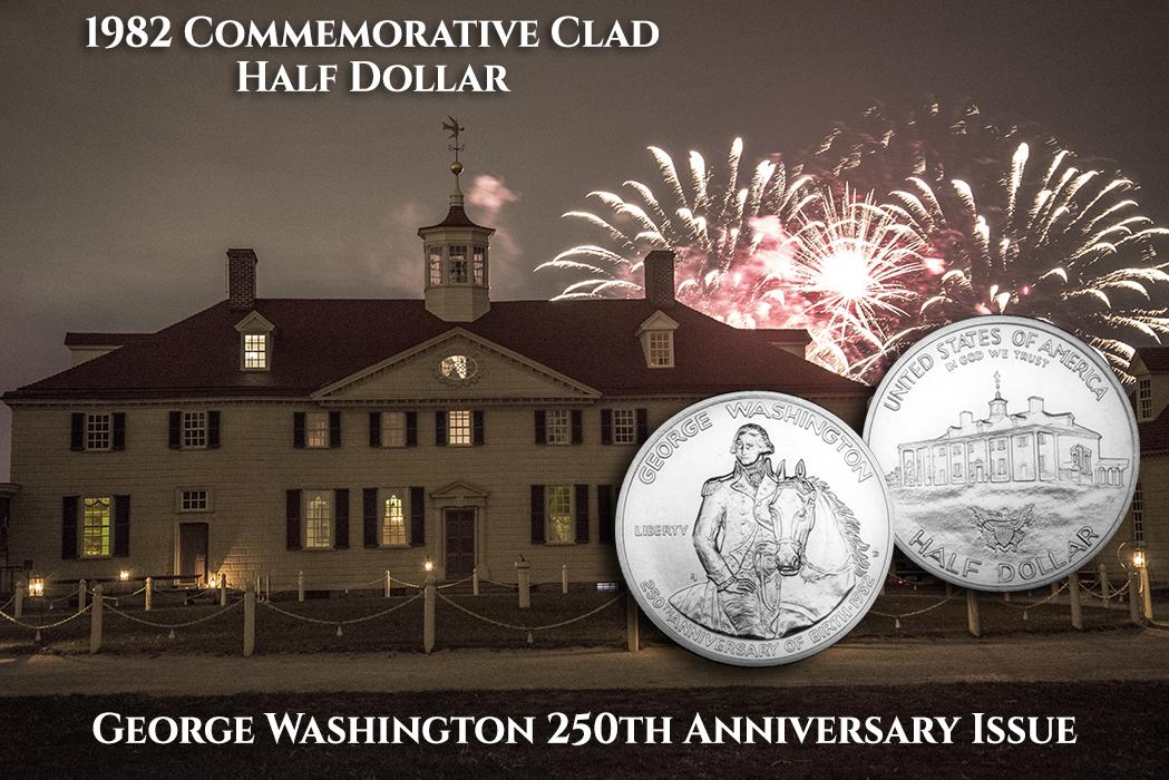 1982 Commemorative Clad Half Dollar