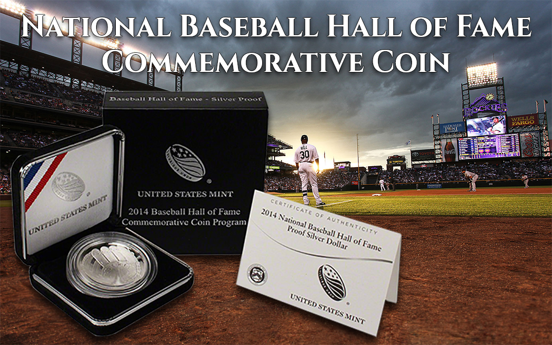 National Baseball Hall of Fame Commemorative Coin