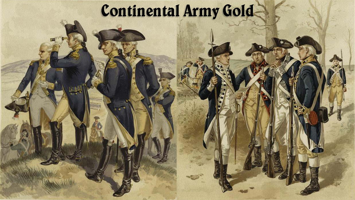 Continental Army Gold