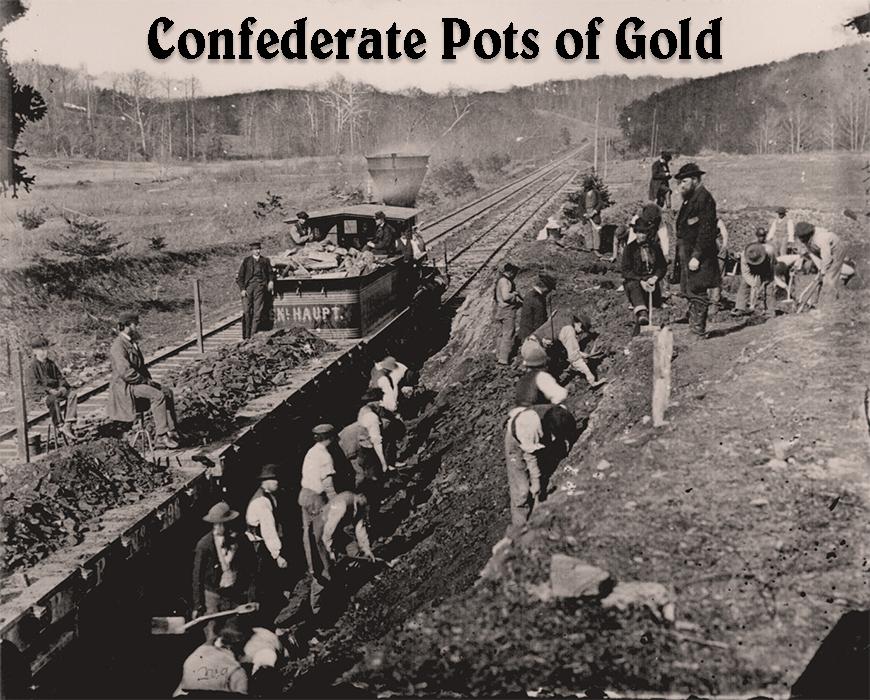 Confederate Pots of Gold