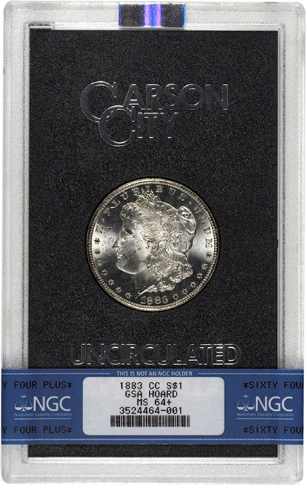 Morgan Dollar - Carson City Mint GSA Hoard