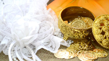 Gold Coins for Weddings